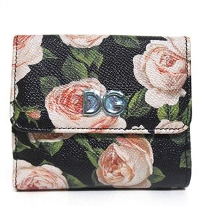 New Floral Rose French Fold Wallet